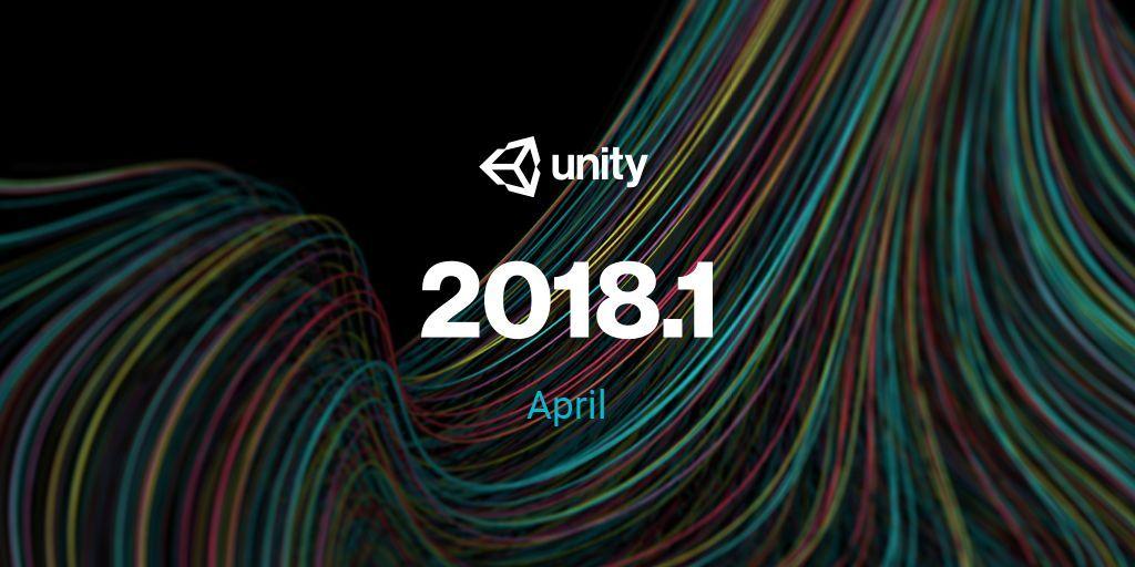 Unity 2018 logo